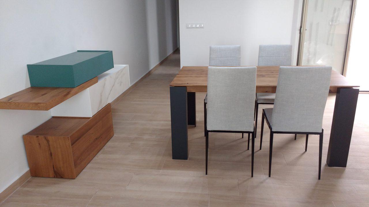 Interiorismo en Murcia con muebles modernos
