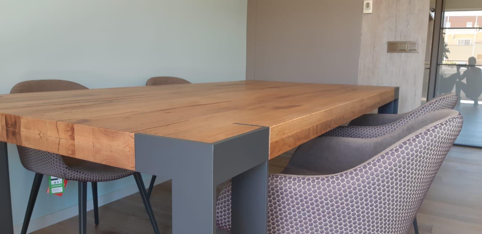 Muebles de comedor modernos y nórdicos en Mueblería de Ángel.