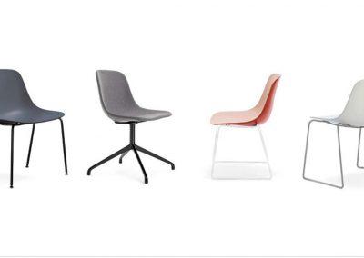 sillas modernas de estilo nórdico en Mueblería de Ángel_Murcia.